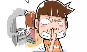 Fun pic: Thảm họa ngoáy mũi