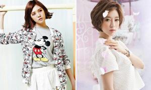 Lizzy siêu xì tin với đồ Mickey, Eun Jung trong sáng như thiên thần