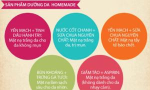 Sản phẩm dưỡng da homemade