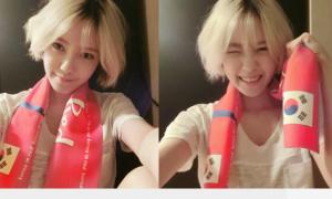 Sao Hàn 18/6: Thần tượng Kpop đỏ rực cổ vũ đội tuyển quốc gia