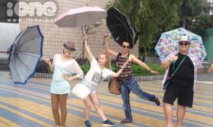 Dàn sao 'Gương mặt thân quen' quậy tưng bừng tại Hồng Kông