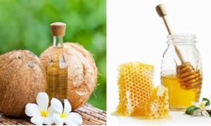 Đắp 'mặt nạ' cho tóc bằng dầu dừa, mật ong