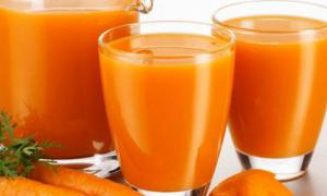 Công dụng không ngờ của nước ép cà rốt