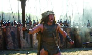 Hercules chưa ra rạp đã gây sốt với cảnh hành động