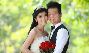 Cặp 'chồng xấu vợ xinh' Việt được giới trẻ Thái Lan ngưỡng mộ
