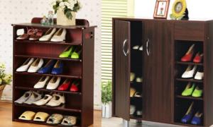 Bài trí tủ giày dép theo phong thủy