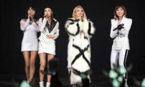 Tour biểu diễn của 2NE1 'cháy' vé
