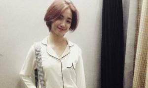 Hot or not: Hòa Minzy theo mốt pyjama ra phố