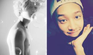 Sao Hàn 12/8: Tae Min khoe ngực trần quyến rũ, Gikwang nhái 'thiên thần Xiah'
