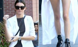 Hot or not: Blazer dài chấm gót của Kendall Jenner