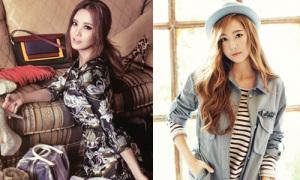 Seo Hyun 'ngập' trong váy áo, Jessica mix đồ thu xinh tươi