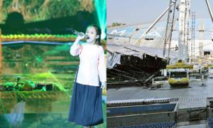Những tai nạn sập sân khấu gây hoảng hốt