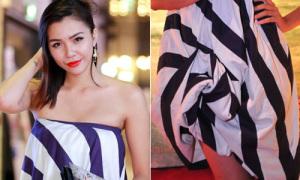 Hot or not: Hà Thu Next Top quấn 'khăn tắm' làm váy