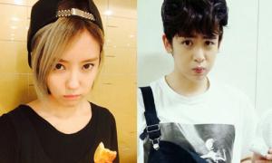 Sao Hàn 13/9: Hyo Min giấu tóc chưa gội, Nich Khun giả nai