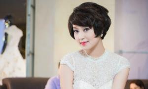 'Hot girl một con' Mi Vân tái xuất với váy cưới