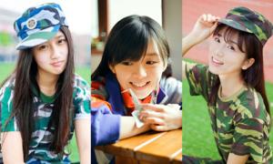 5 cô gái đẹp như nữ thần được dân mạng Trung Quốc ca ngợi