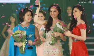 Hot girl Hye Trần đăng quang Miss Ngôi Sao 2014