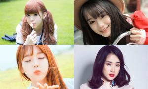 Những kiểu tóc sốt xình xịch với teen girl 4 nước châu Á
