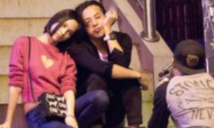 G-Dragon lộ ảnh tình cảm với bạn gái