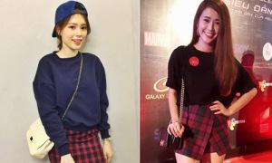 3 kiểu chân váy mùa thu được hot girl Việt mê tít