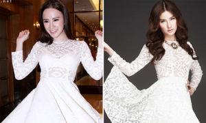 Phương Trinh, Diễm My 9x đụng độ váy xinh như công chúa