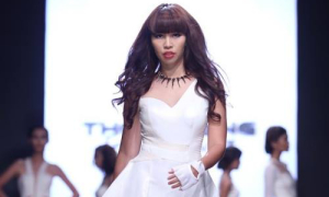 Hà Anh bị cấm diễn ba tháng vì trang phục phản cảm