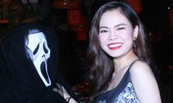 Giang Hồng Ngọc mở tiệc ăn mừng phong cách Halloween