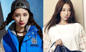 Suzy mắt mèo mê hoặc, Park Shin Hye váy trắng thanh lịch