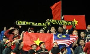 CĐV Malaysia cảm kích tinh thần fair-play của CĐV Việt Nam