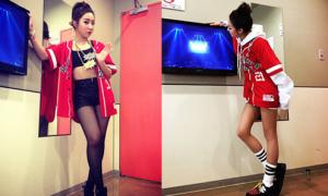 Sao Hàn 13/12: Dara - Minzy khoe chân với hai phong cách trái ngược