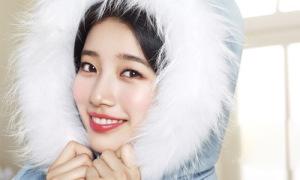 Suzy xinh như công chúa tuyết đón năm mới