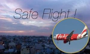 Dân mạng cầu nguyện cho 162 người trên máy bay AirAsia mất tích