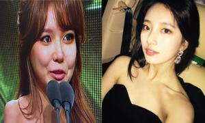 Sao Hàn 31/12: Soo Young rơi nước mắt, Suzy khoe vai trần nõn nà