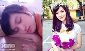 Nhan sắc cô bạn nổi tiếng vì bức ảnh ngủ gật trong lớp