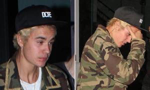 Justin Bieber mặt mụn xấu tệ hại sau loạt ảnh khoe thân