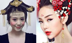 Muôn kiểu hóa thân thành Võ Tắc Thiên của xì ta, hot teen Việt