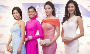 Kỳ Duyên xinh đẹp nổi bật bên dàn Hoa hậu