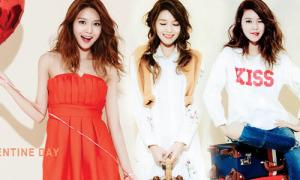 Soo Young đổi phong cách lia lịa đón Valentine