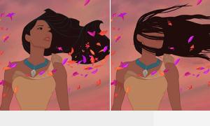 Công chúa Disney tóc rối, eo mập trong đời thực