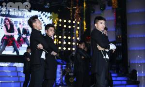 Nhóm 365 hát nhảy tưng bừng chúc mừng 'cô tiên' Ngô Thanh Vân
