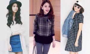 4 hot girl Thái Lan 'nấm lùn' vẫn diện đồ cực đẹp