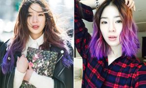 12 gợi ý nhuộm ombre cực đẹp từ siêu mẫu 'tắc kè hoa' Irene Kim