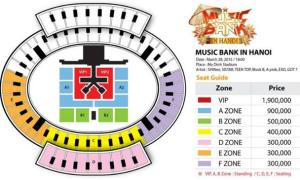 Giá vé Music Bank ở Hà Nội 'mềm' hơn với fan Việt