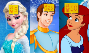 Thử trò đoán tuổi với công chúa, hoàng tử Disney