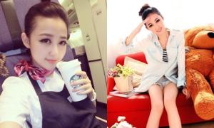 Nhan sắc nữ tiếp viên hàng không 'đẹp nhất Trung Quốc'