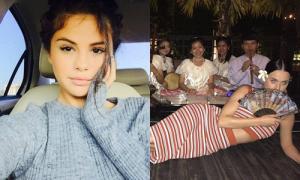 Sao US-UK 15/5: Selena Gomez xinh như búp bê, Katy Perry giả làm gái Thái