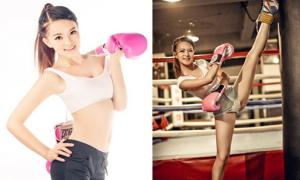 Nữ MC 9x mê boxing có thân hình đáng ngưỡng mộ