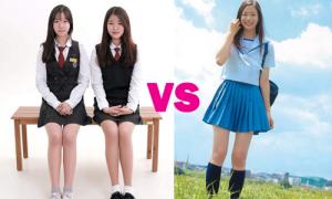 Đồng phục nữ sinh Hàn bị chê dần sexy hơn cả teen Nhật