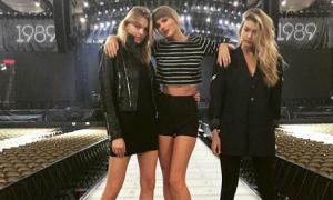 Sao US-UK 31/5: Taylor Swift chân dài hơn cả siêu mẫu