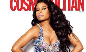 Sao US-UK 5/6: Nicki Minaj đùi to vẫn quyến rũ trên bìa tạp chí